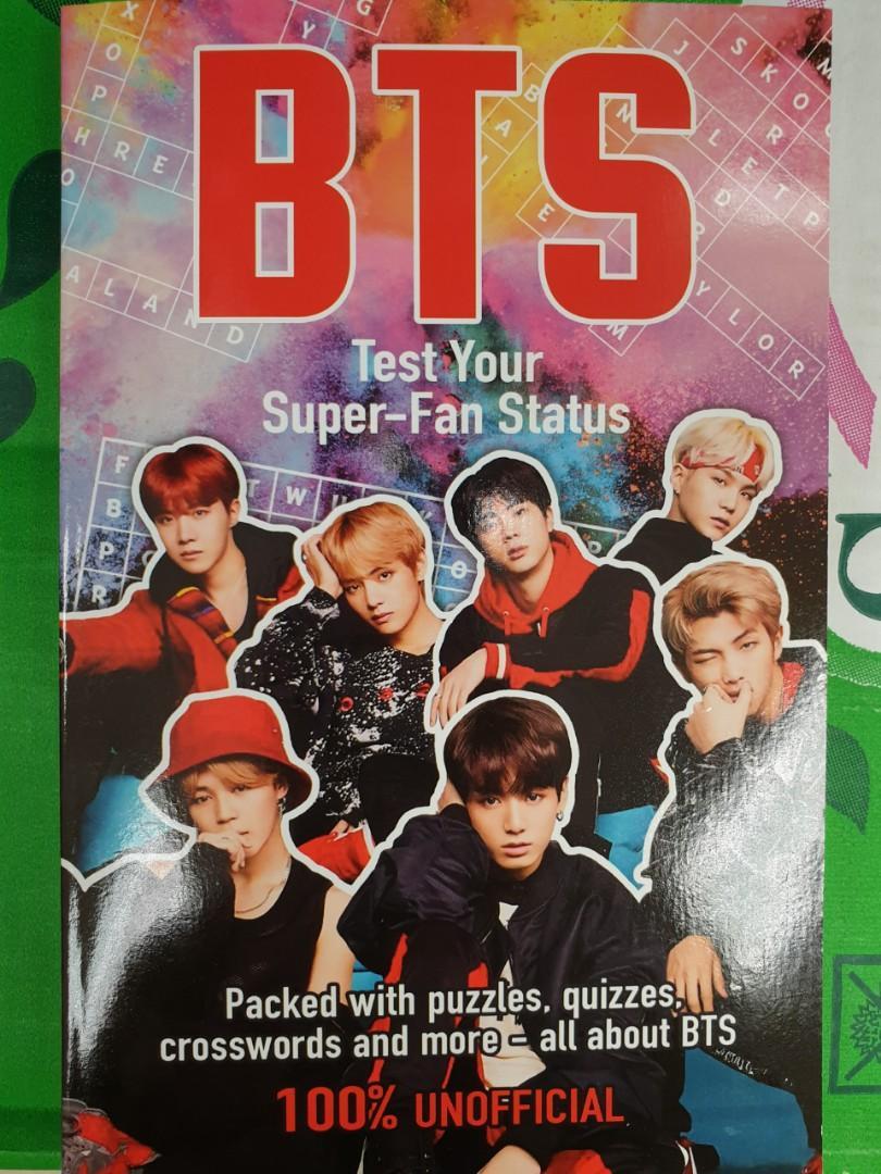 BTS Test Your Super-Fan Knowledge 100% Unofficial (10 Slots)