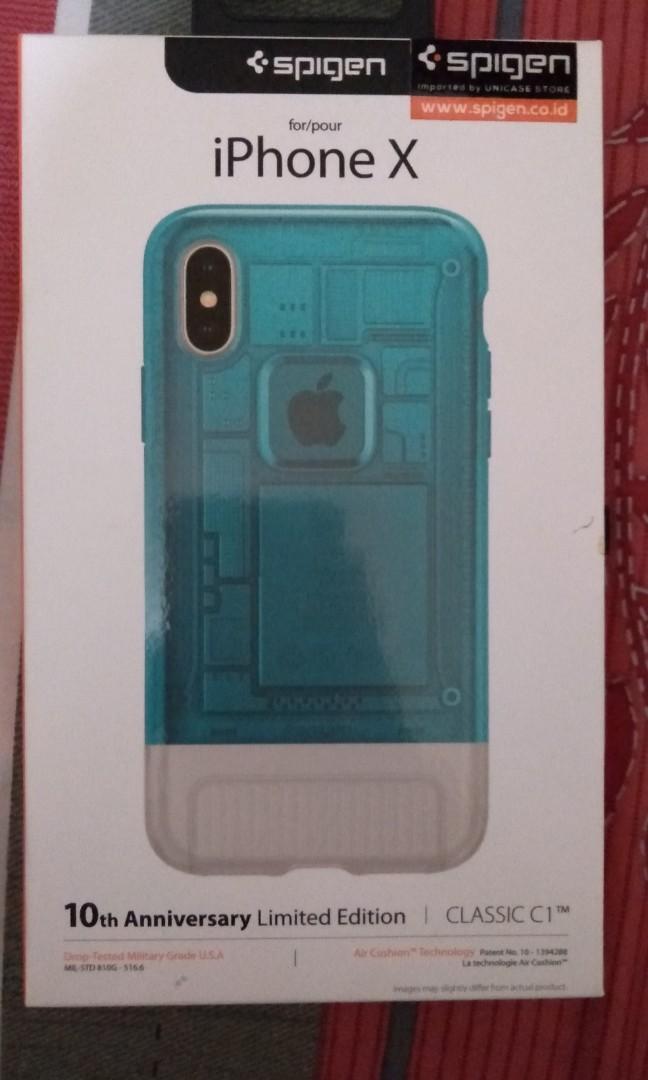 Case iPhone X spigen c1 limited edition