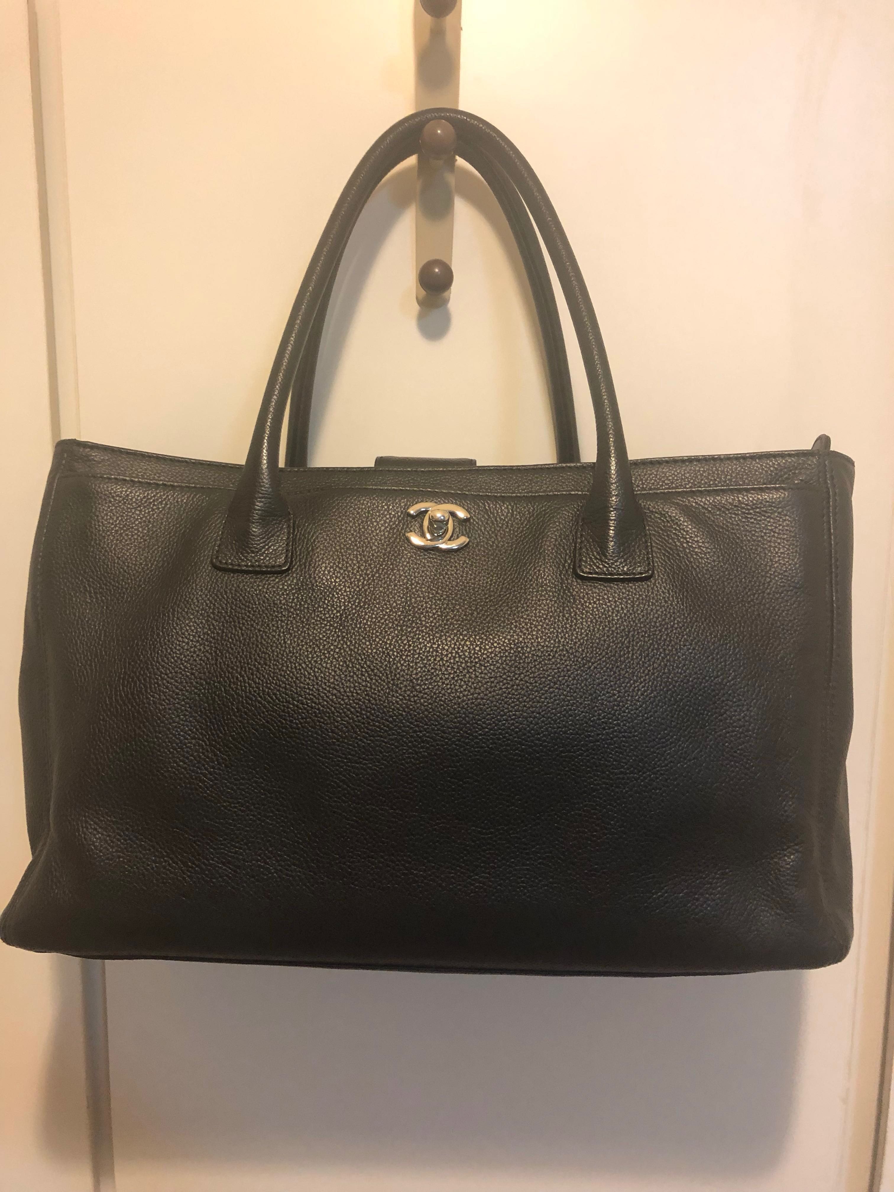 89bc4aec28cd7d Chanel Executive Cerf Tote, Luxury, Bags & Wallets, Handbags on Carousell