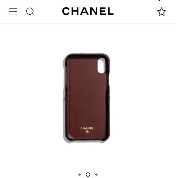 062dd95c963343 Chanel Grained Lambskin Classic Case for iPhone XS / iPhone X, Luxury,  Accessories, Others on Carousell