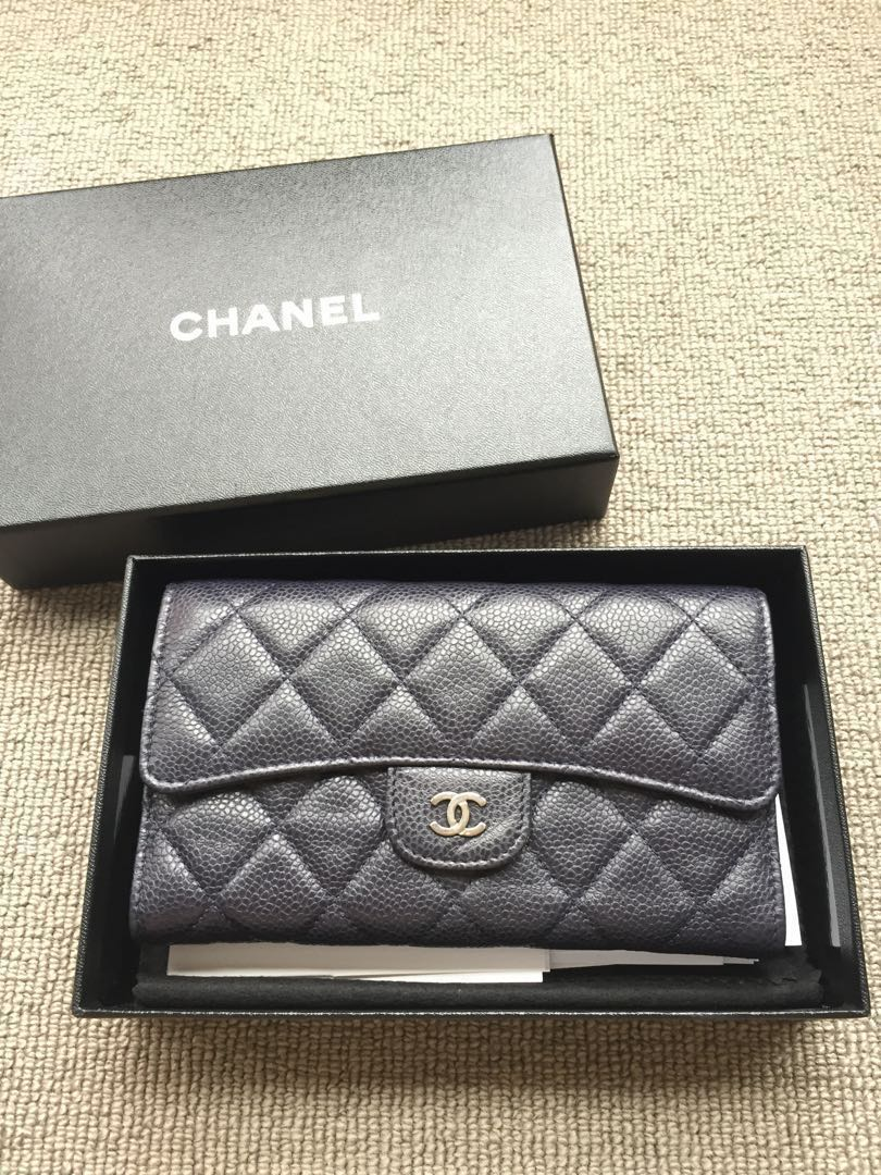 2bce66a388cf79 Chanel Wallet BRAND NEW, Luxury, Bags & Wallets, Wallets on Carousell