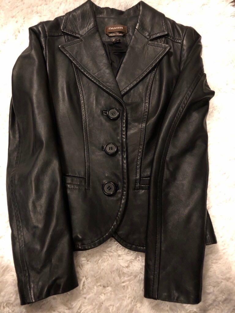 Danier Italian leather jacket