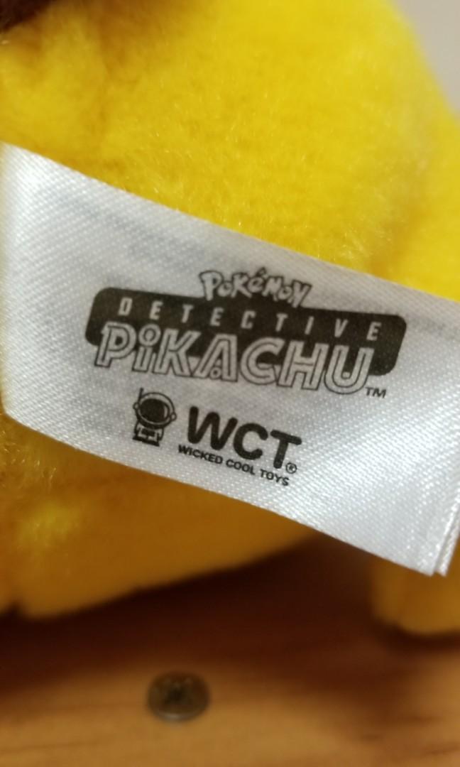 Detective pikachu 偵探比卡超公仔