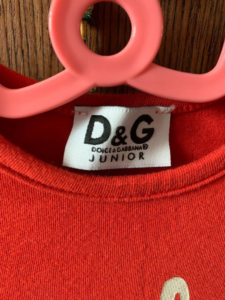 D&G Junior Long Sleeve TOP