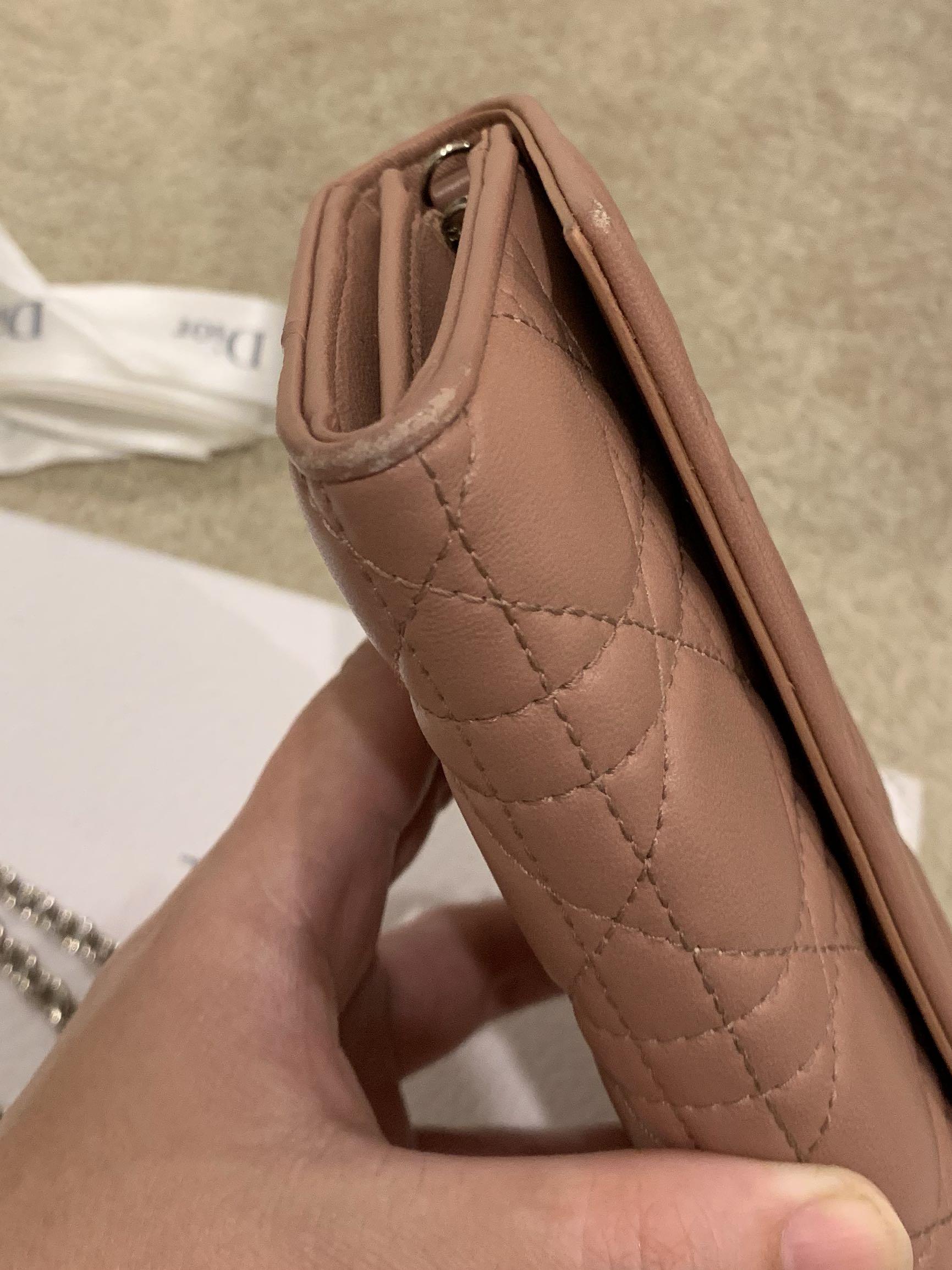 Dior Chain Wallet