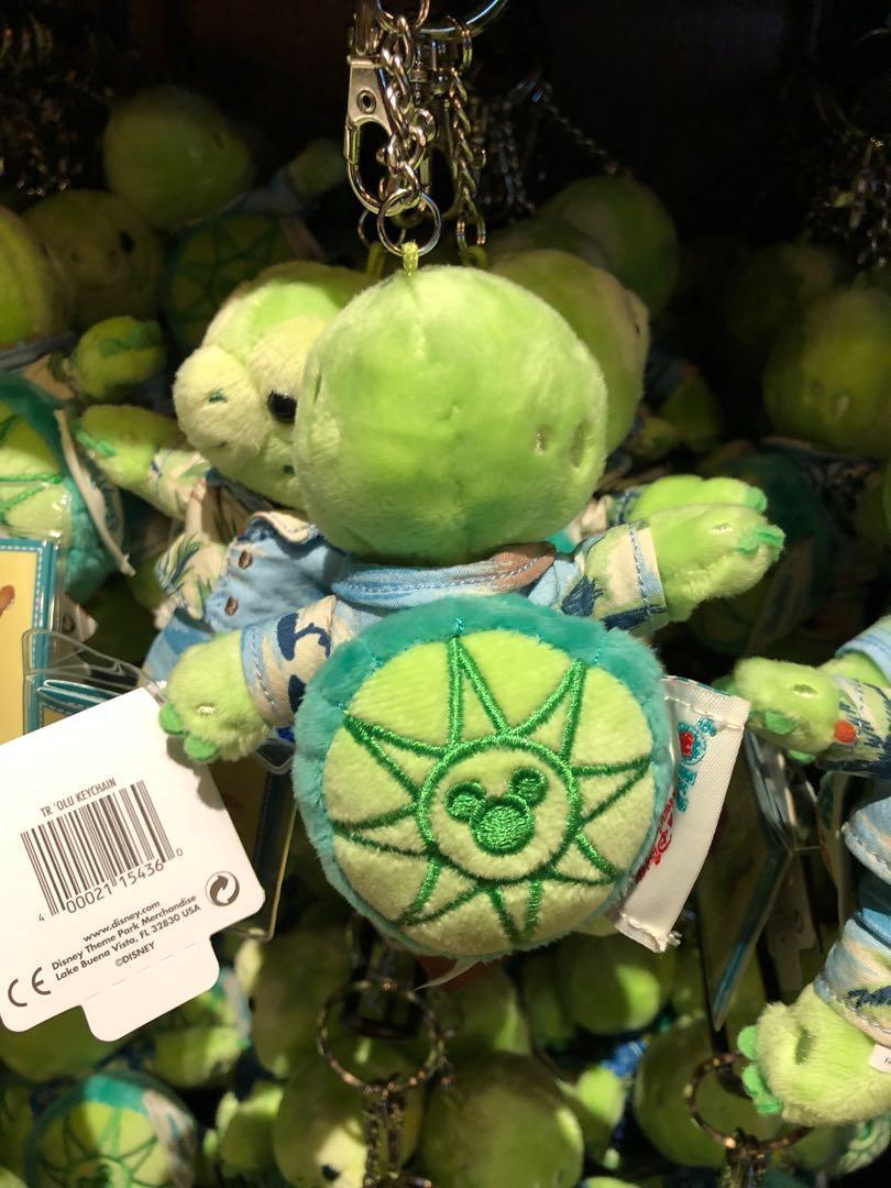 《美國夏威夷迪士尼限定代購》Disney Duffy friend Olu小海龜公仔新款衫匙扣
