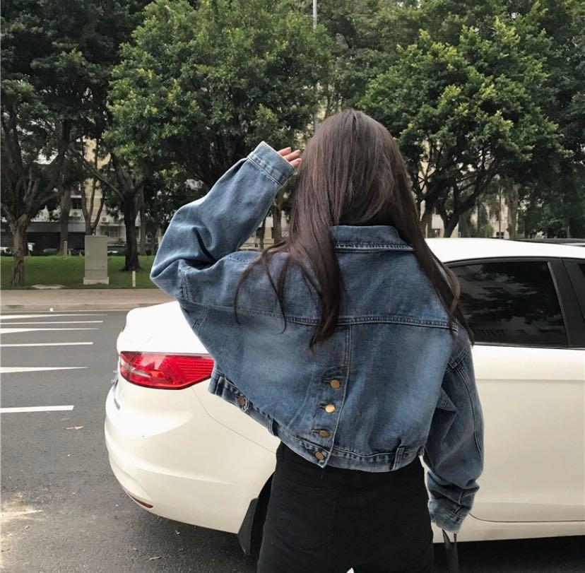 🔥fast po // cropped denim jacket 🤩