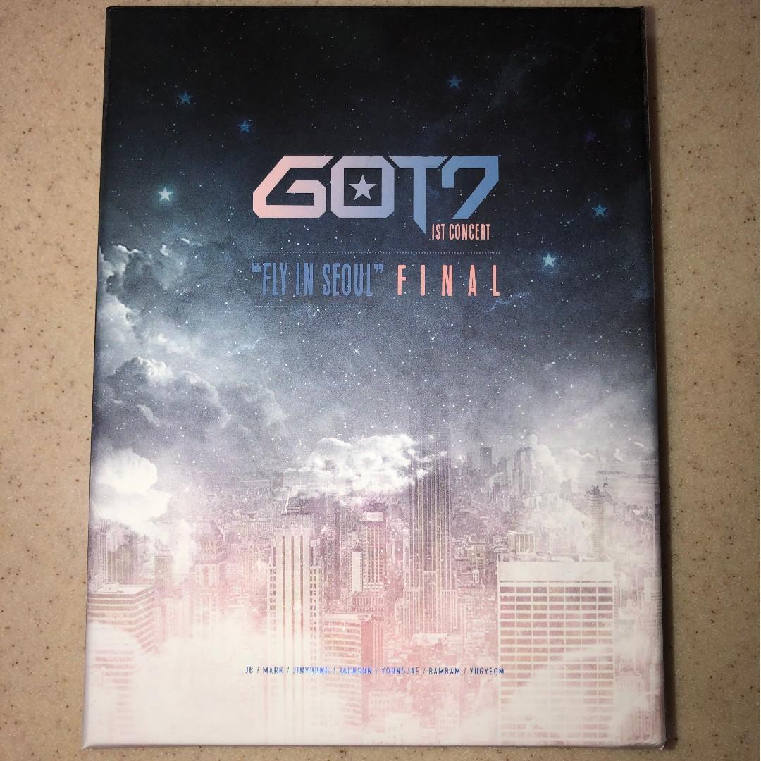 "GOT7 Official 1st Concert ""FLY IN SEOUL"" FINAL DVD"