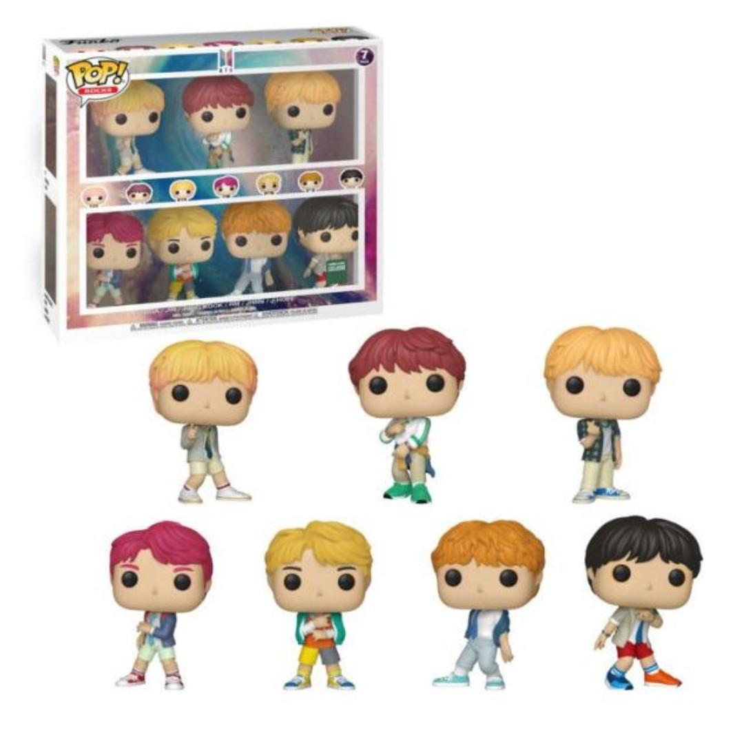 [Batch#3 GROUP ORDER] BTS Funko POP! Rocks Vinyl Figure (1 or 7 set)