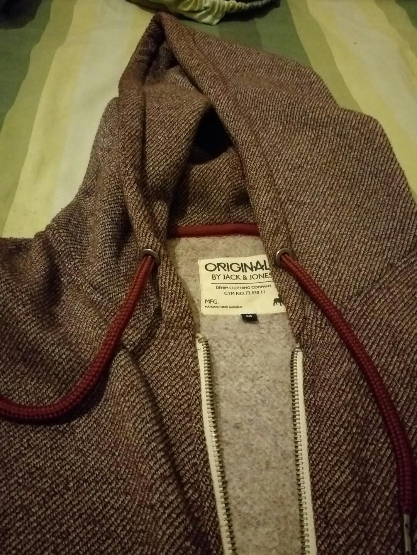 high quality so cheap get online Hoodie Jacket Jack & Jones Original Maroon, Men's Fashion ...