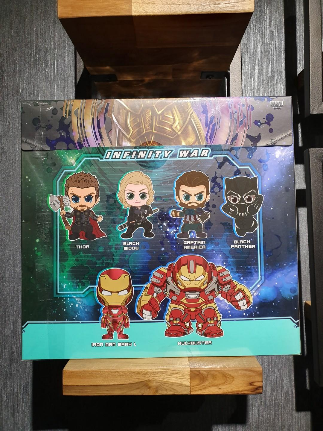 Hot Toys Standard Chartered HK Exclusive Infinity War Set of 6 Cosbaby MISB #ENDGAMEyourEXCESS