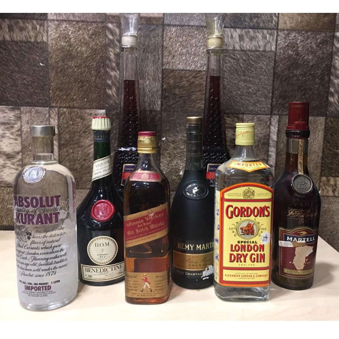 I Buy Old Liquor Benedictine Dom Vodka Whisky Gin By Shirley Low 96353518 Food Drinks Beverages On Carousell