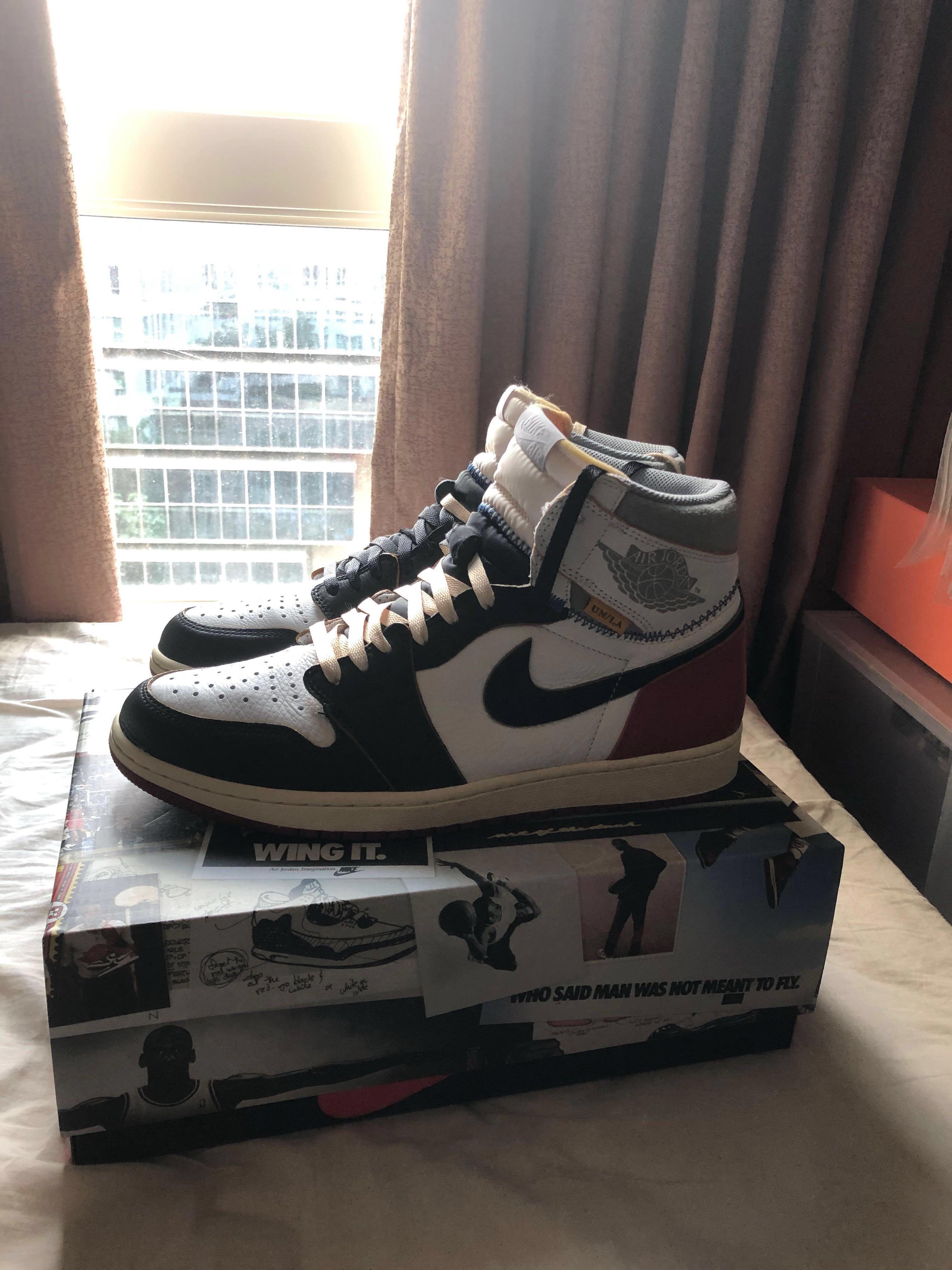 8320a5a7 Jordan 1 union black toe US 12, Men's Fashion, Footwear, Sneakers on ...