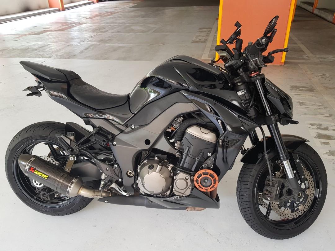 Kawasaki Z1000 Black Motorbikes Motorbikes For Sale Class 2 On
