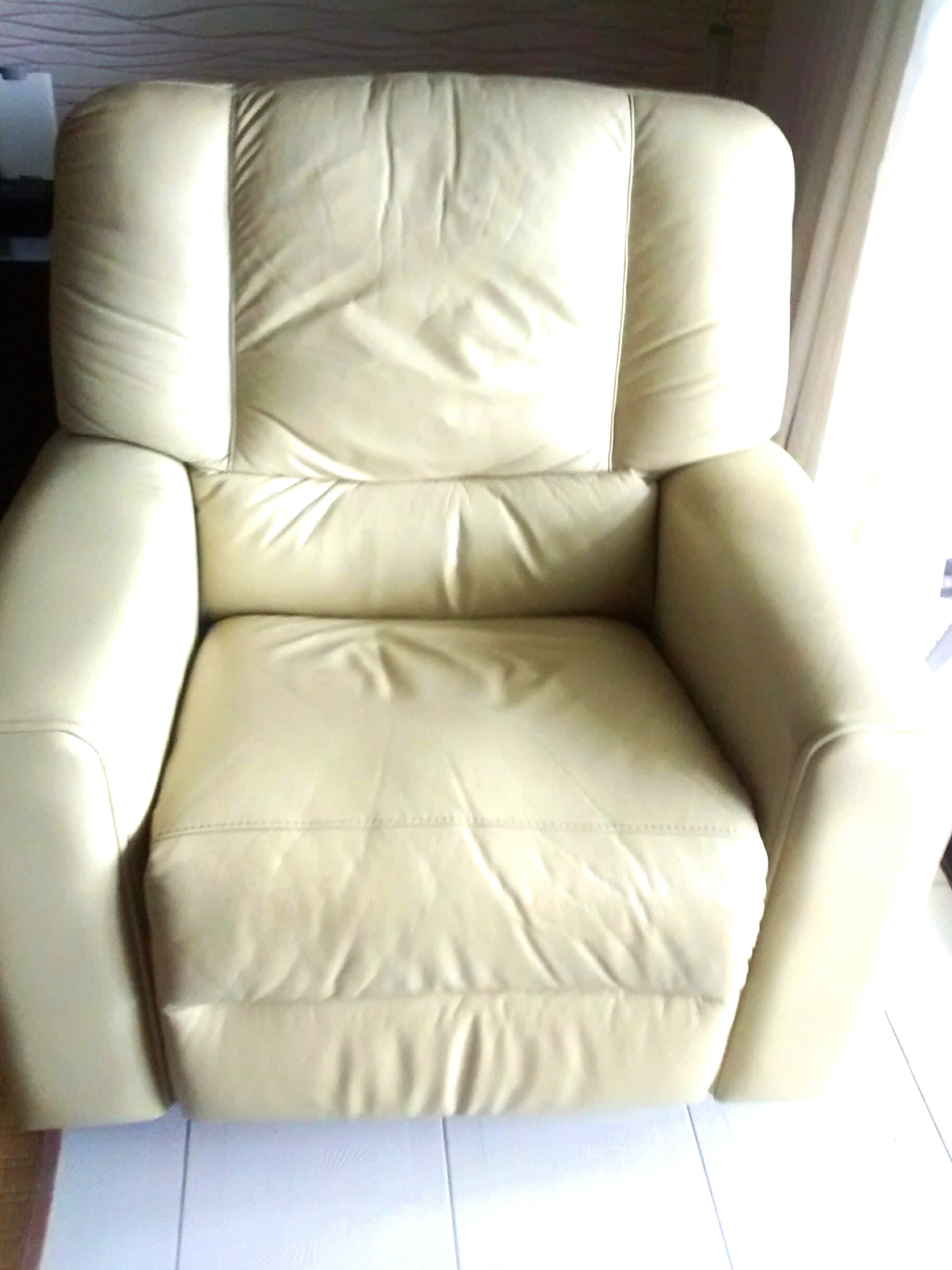 Sofa Recliner Leather Furniture Sofas On Carousell
