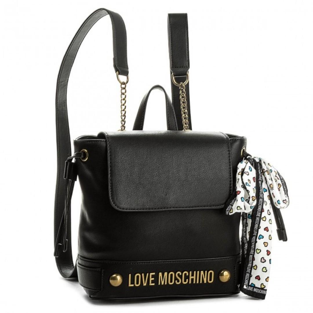 separation shoes f8eaa 1beee LOVE MOSCHINO BACKPACK JC4348PP05K60000 NERO, Women's ...