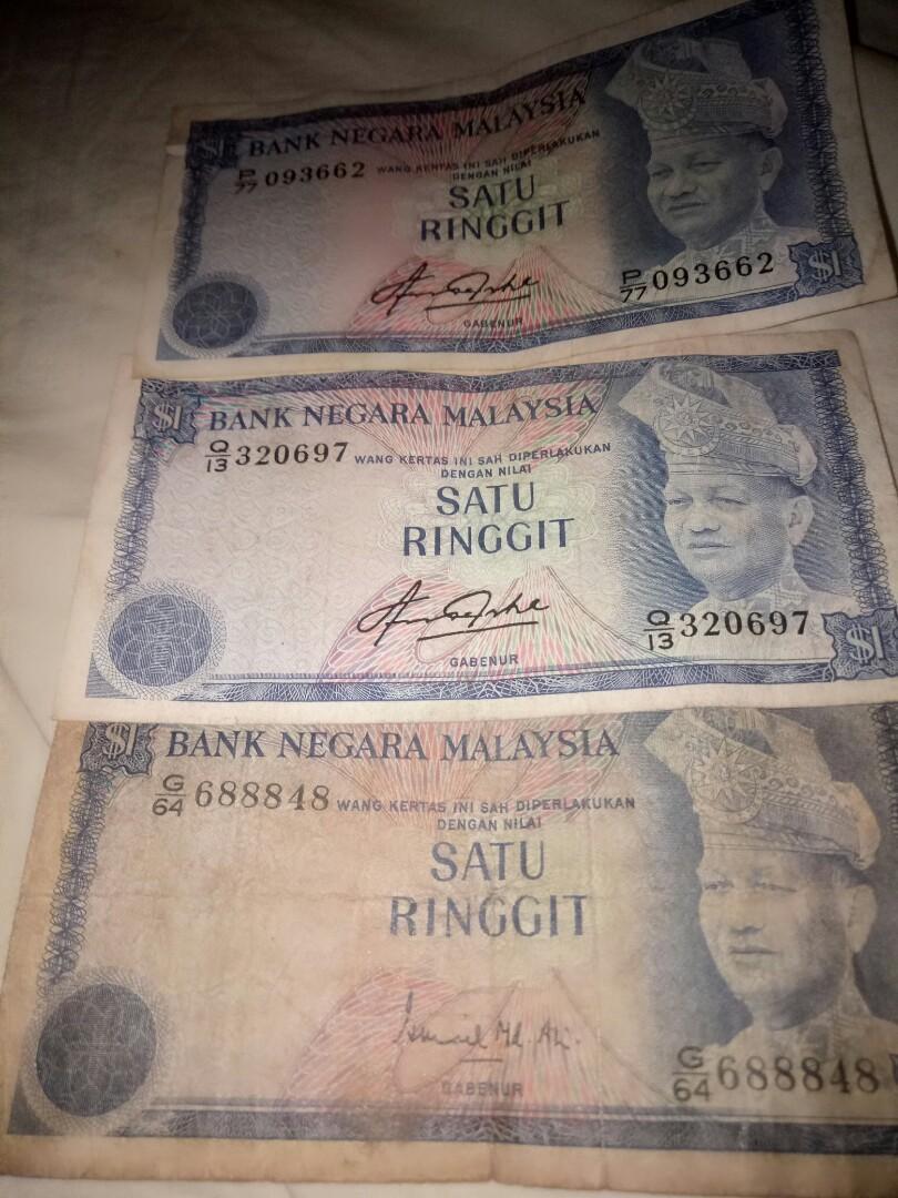 Malaysia old satu ringgit