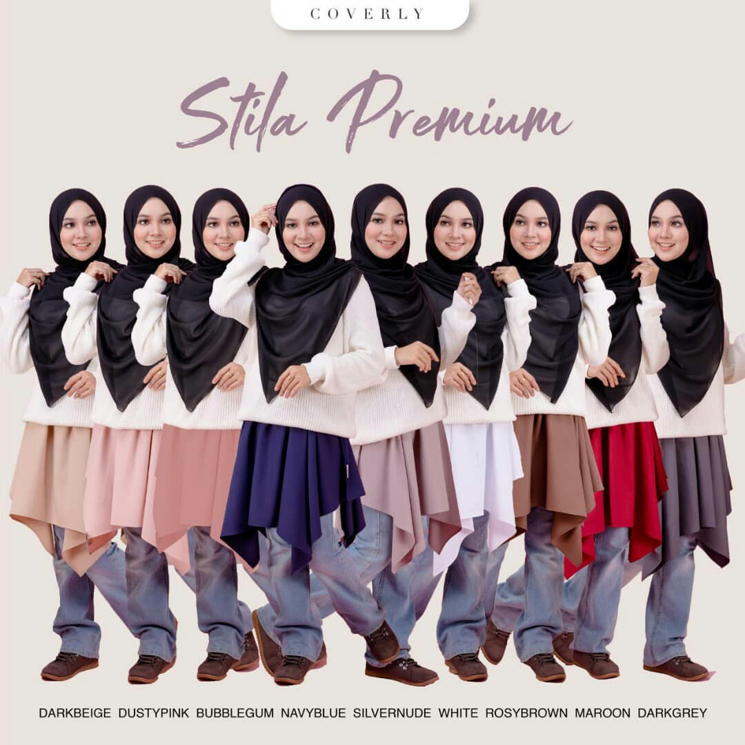 70e979a23 Mini Skirt Muslimah 🌹 Stila Premium, Fesyen Muslimah, Seluar/Skirt di  Carousell
