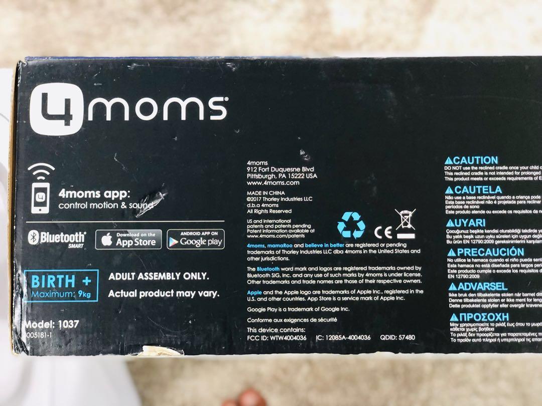 Latest Model 4moms MamaRoo Multiplush 4