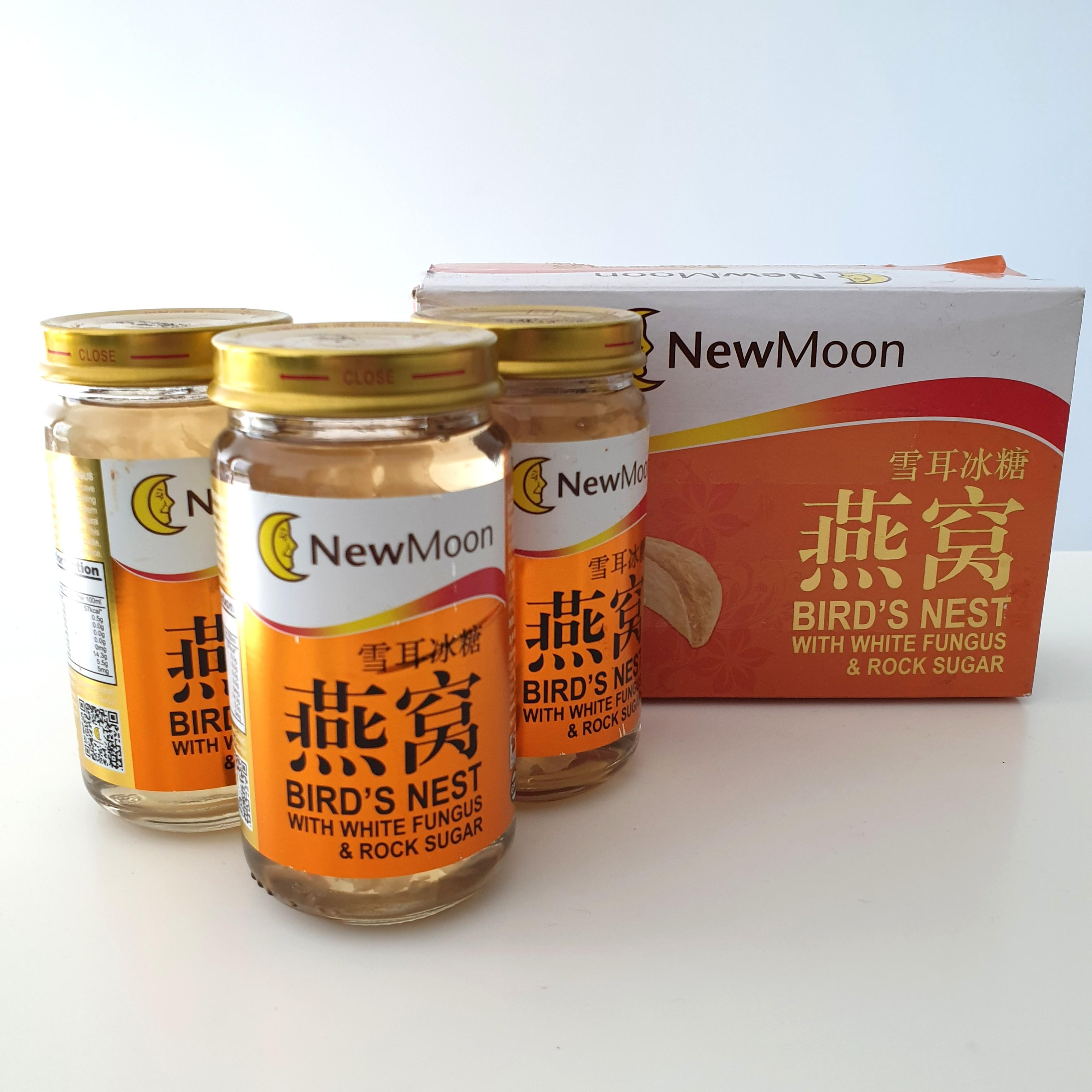New Moon Birds Nest with White Fungus & Rock Sugar