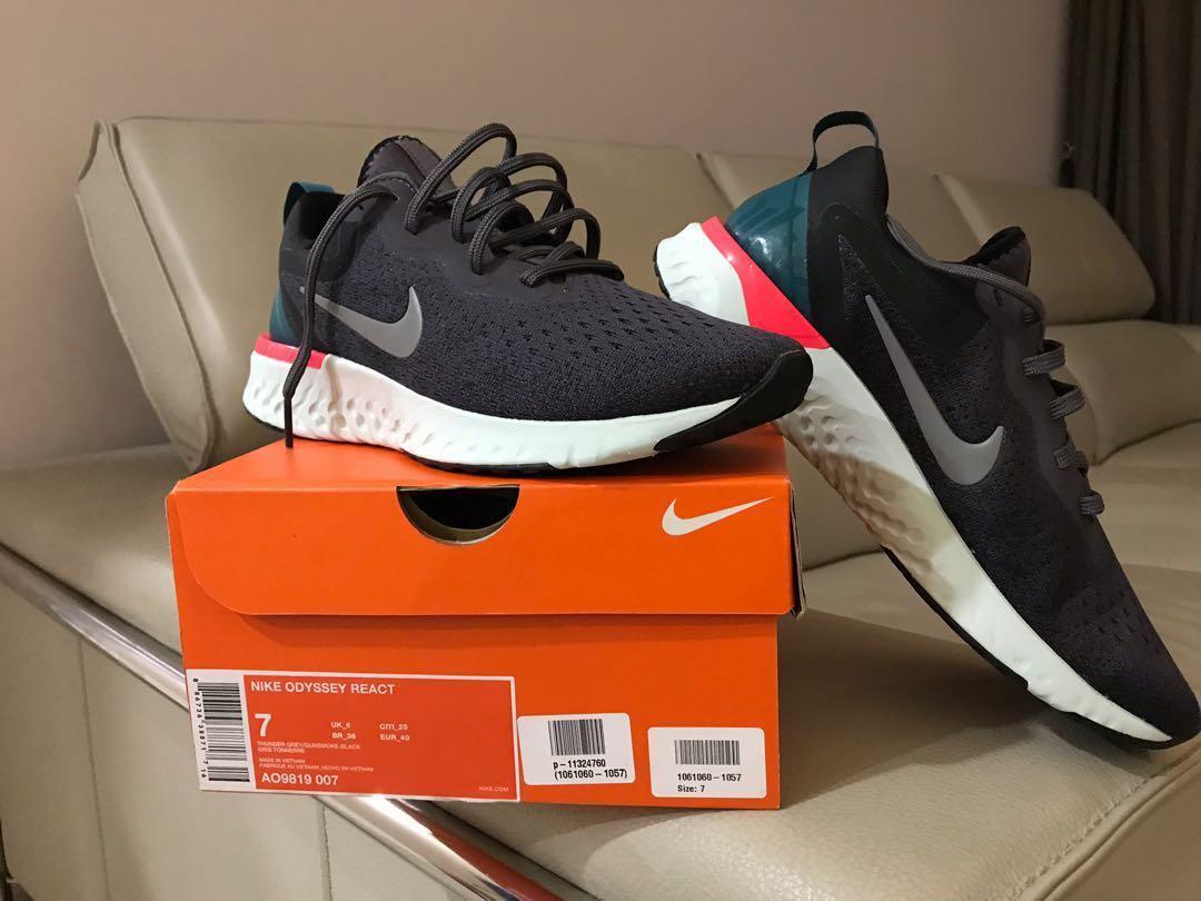 f65602c4c5fe Nike Odyssey react shoe  running sport shoes