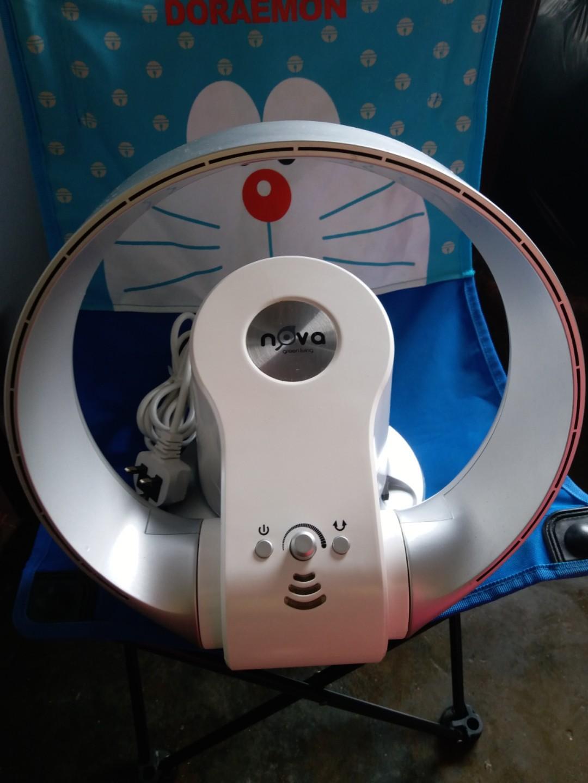 NOVA FoIdable Bladeless Fan 無扇叶電風扇台挂兩用静音