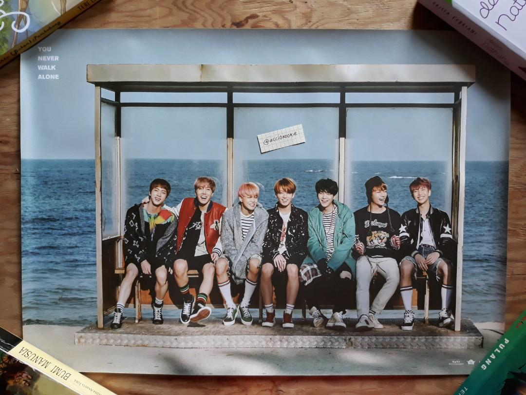 Official BTS Poster You Never Walk Alone