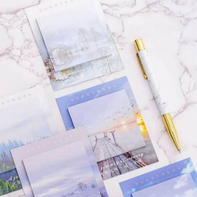 (PO) Landscape Sticky Notes
