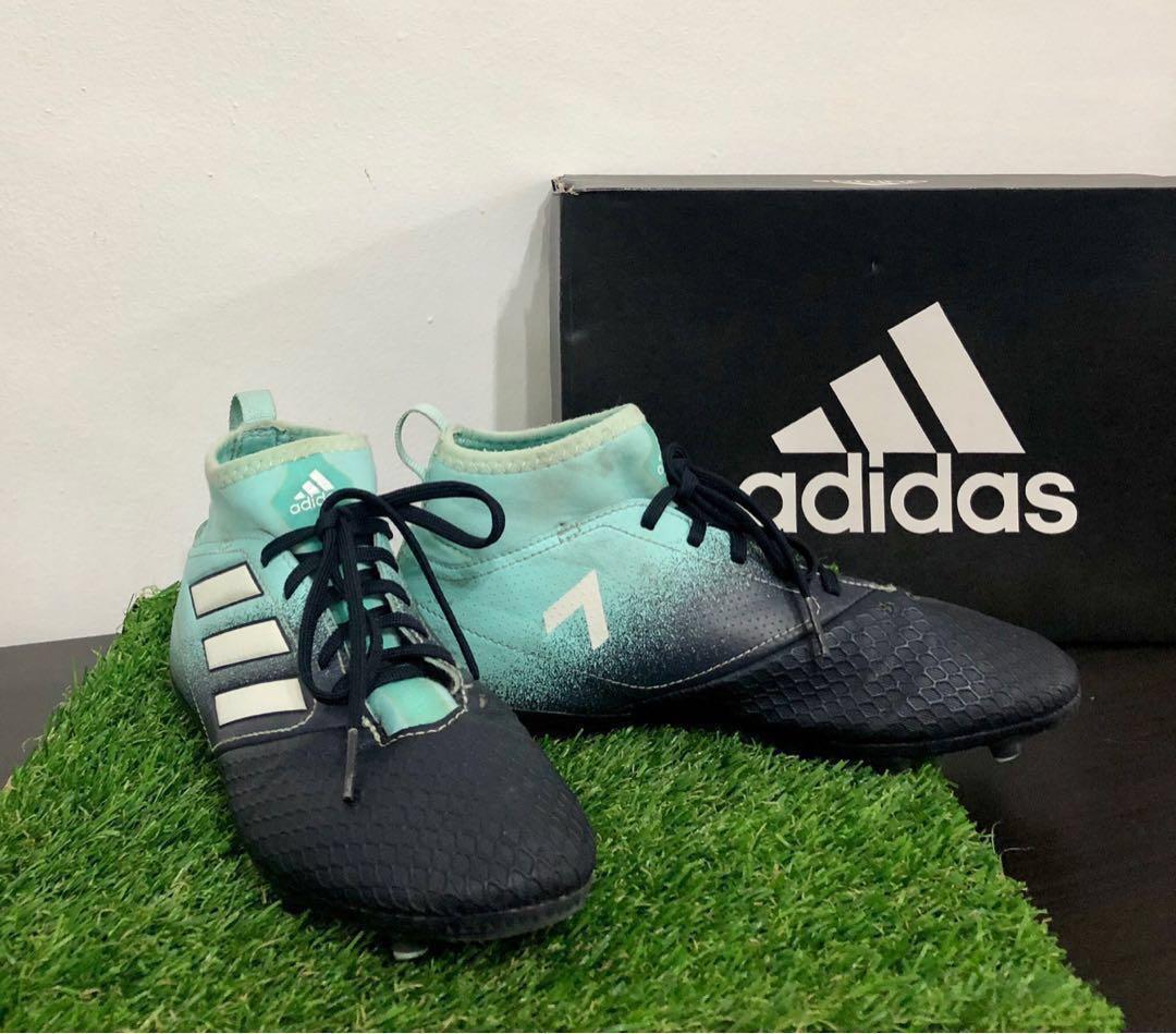 big sale c77d2 e1c05 Pre 💖 Auth Adidas ACE 17.3 FG Junior / Kids Football Soccer ...
