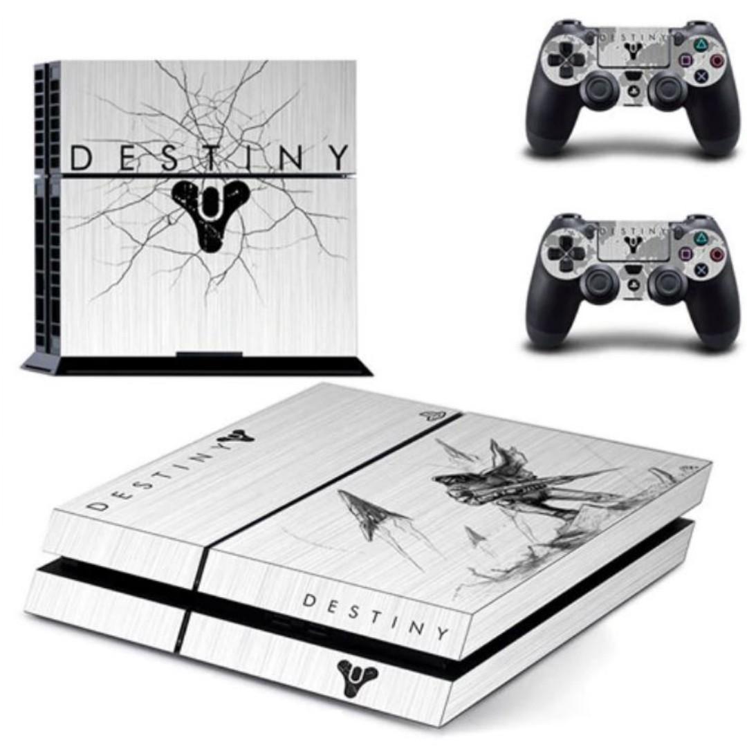 PS4 VINYL DESIGN DECAL DESTINY