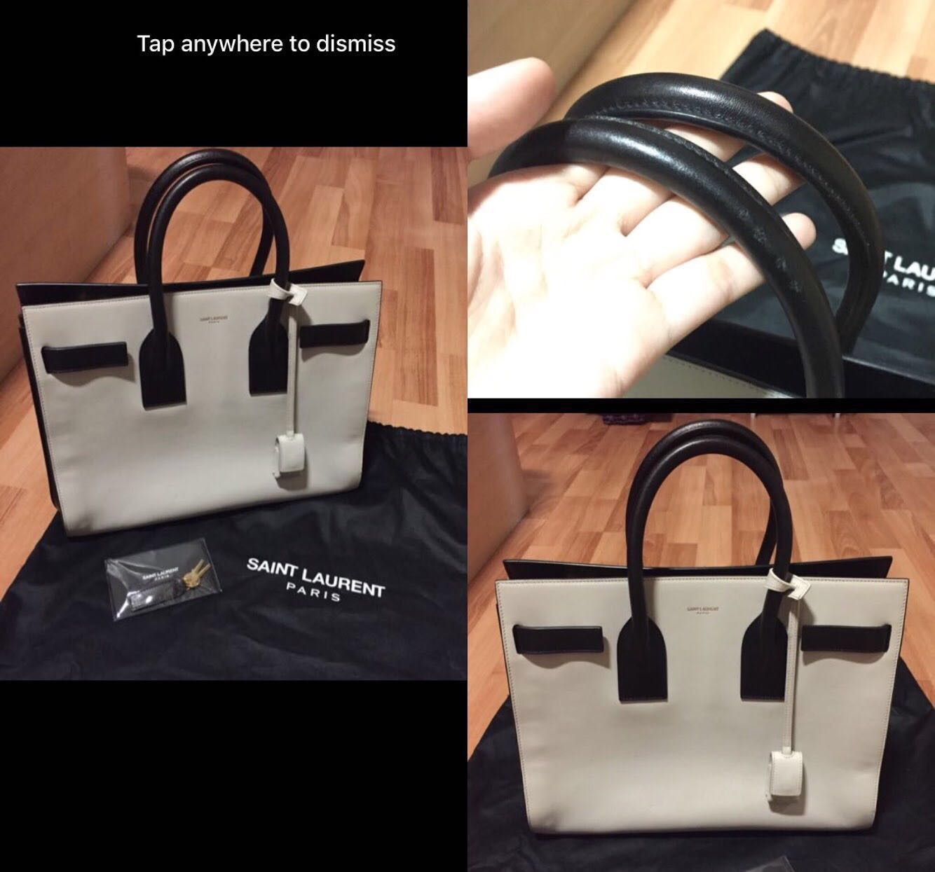 1078c66c4c0 Saint Laurent Sac De Jour, Luxury, Bags & Wallets, Handbags on Carousell