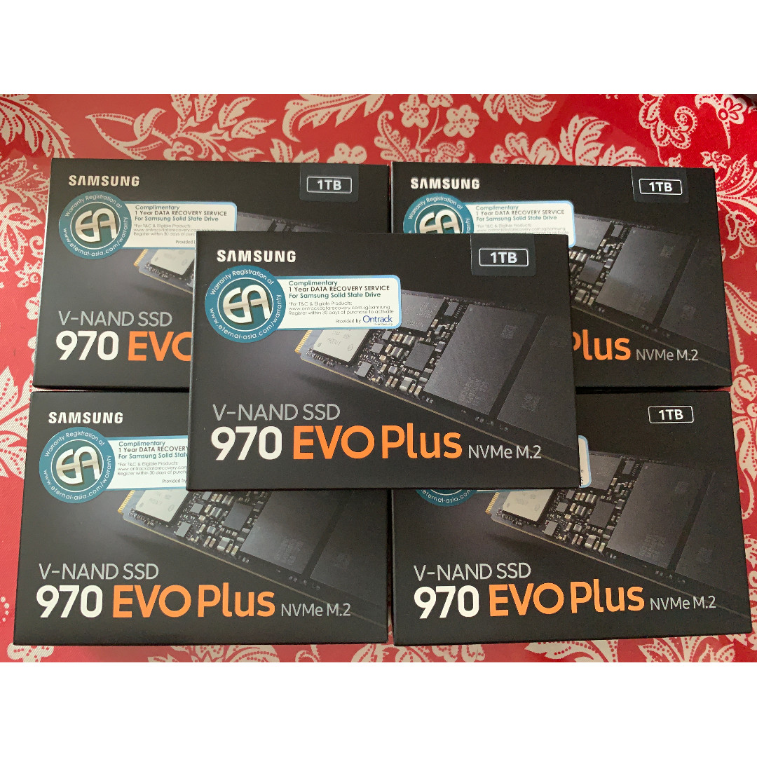 [SAMSUNG SSD PROMO] Samsung 970 EVO PLUS PCIe X4 NVMe M 2 2280 Internal SSD  (250GB MZ-V7S250BW // 500GB MZ-V7S500BW // 1TB MZ-V7S1T0BW)