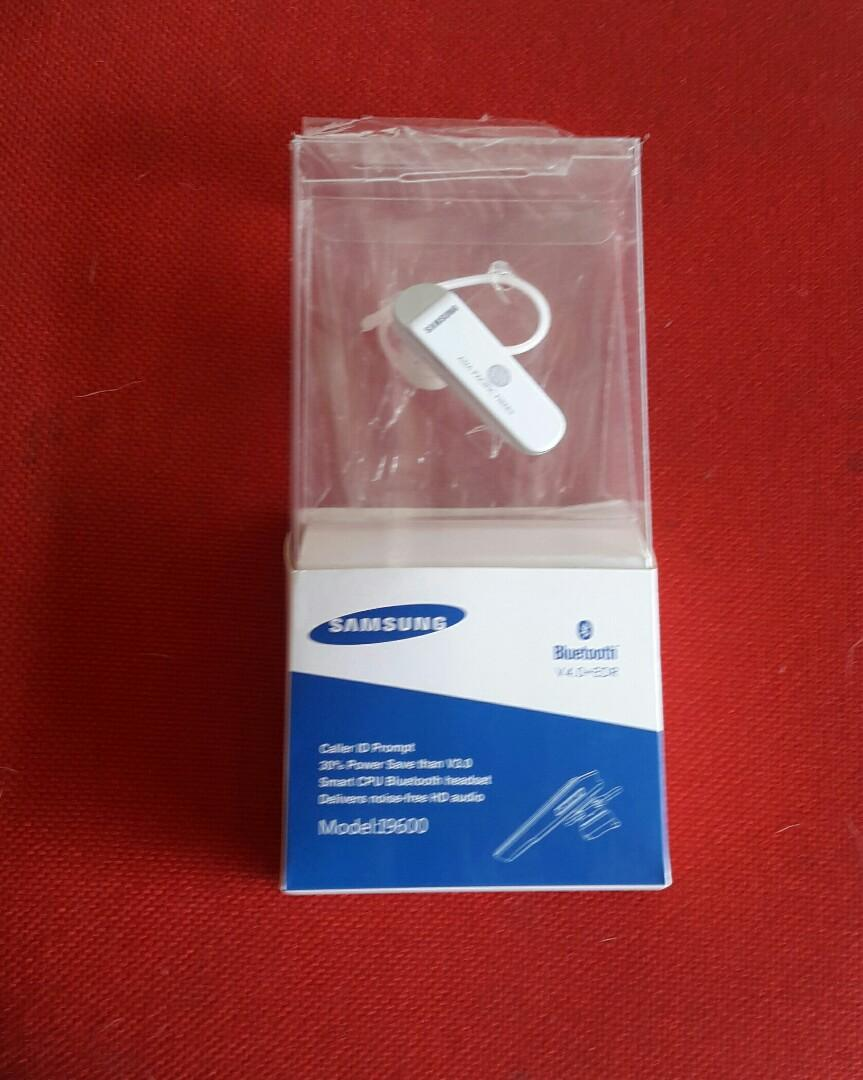 Samsung  Bluetooth  Headset Original  Model 19600