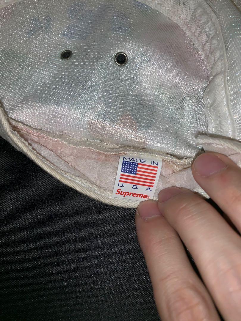 Supreme Camp Cap sample 2008