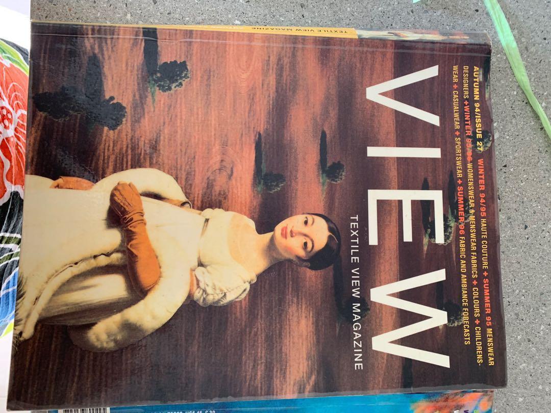 TEXTILE VIEW Magazines