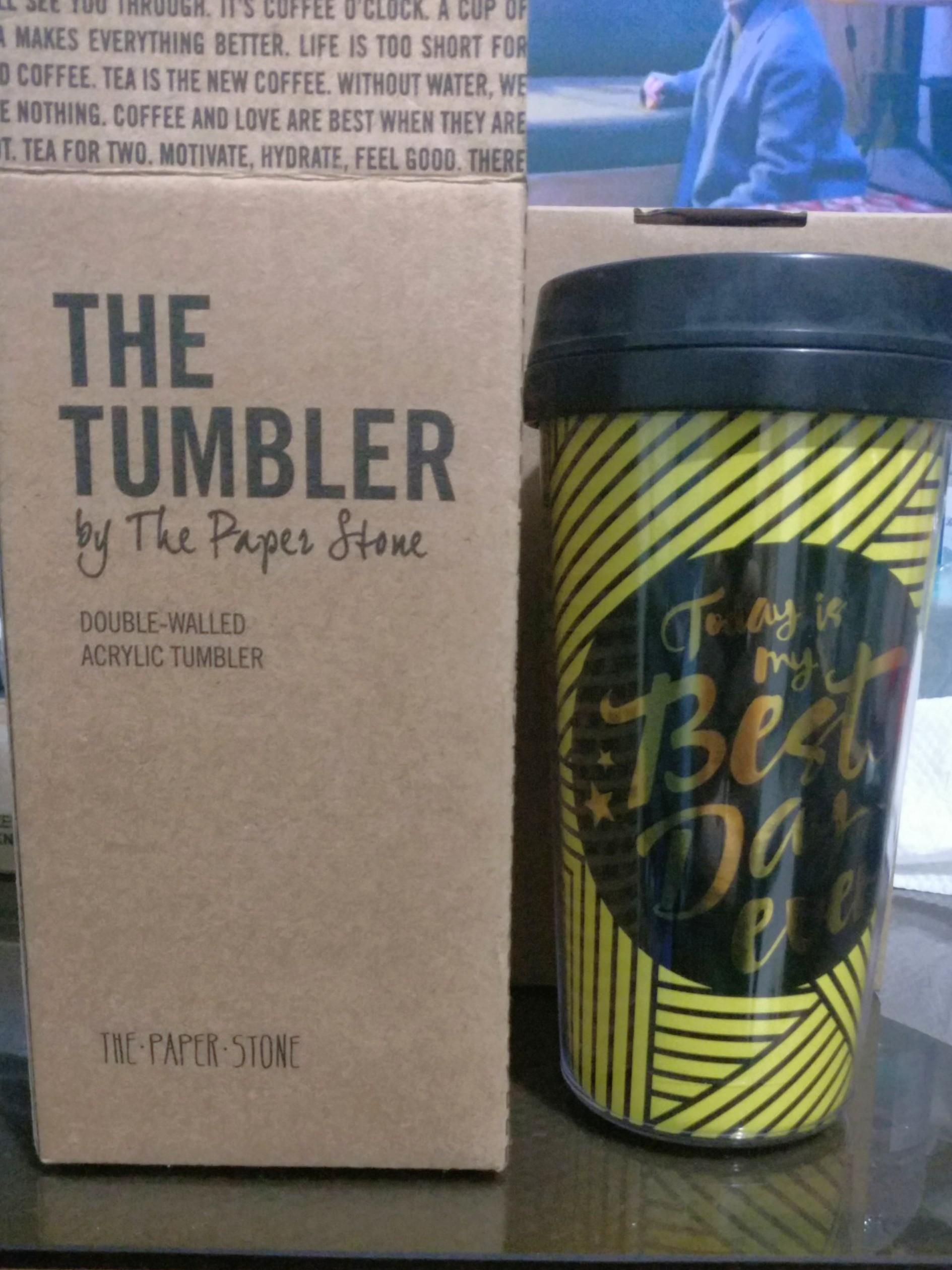 The Tumbler - The Paper Stone