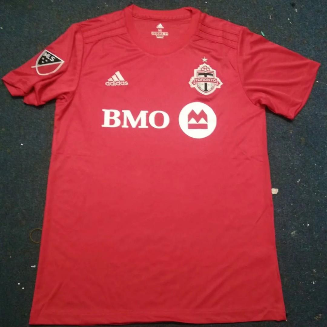 official photos 3af4d 59e79 Toronto FC Home Kit 18/19, Sports, Sports Apparel on Carousell
