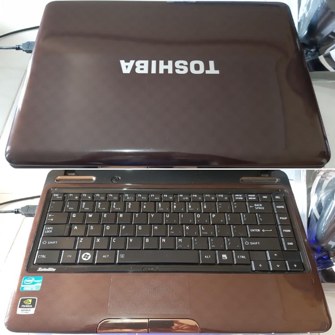 TOSHIBA L735 i5 VGA 3GB RAM 4GB MULUS BONUS MURAH