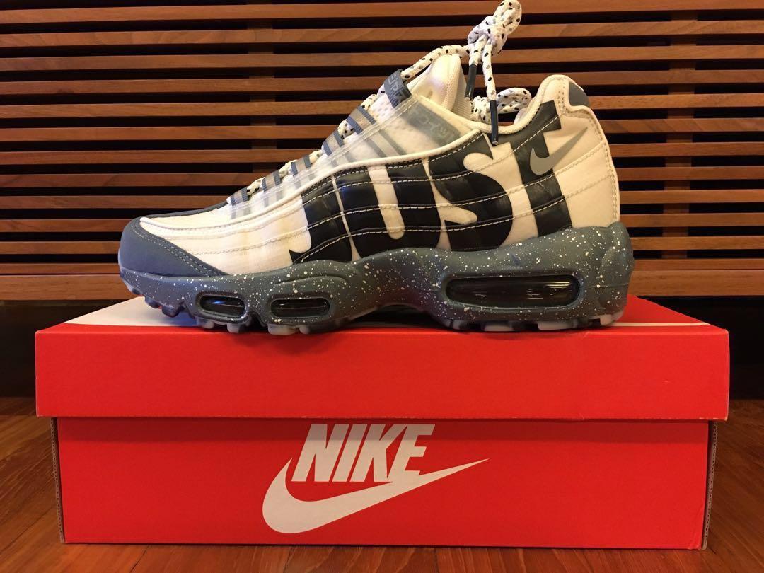 "298426c721 US7] NIKE Air Max 95 ""Mt Fuji"", Men's Fashion, Footwear, Sneakers on ..."