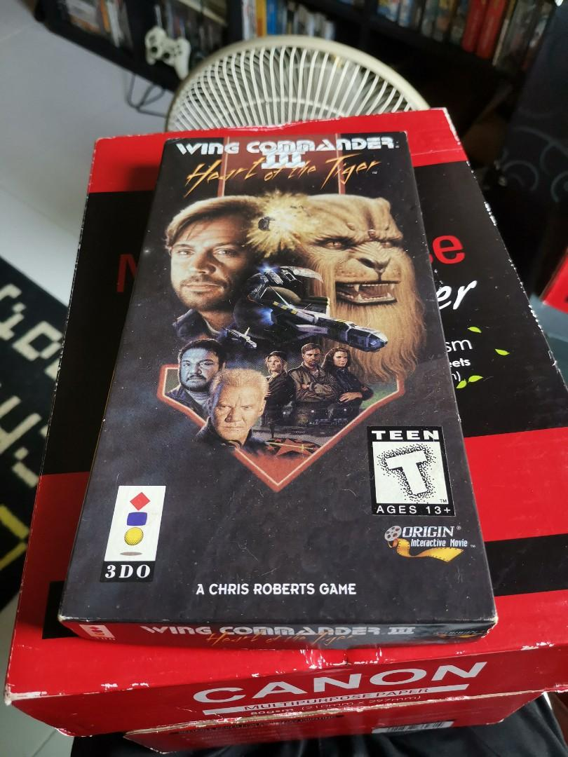 Wing Commander Heart Of The Tiger 3do Toys Games Video Gaming