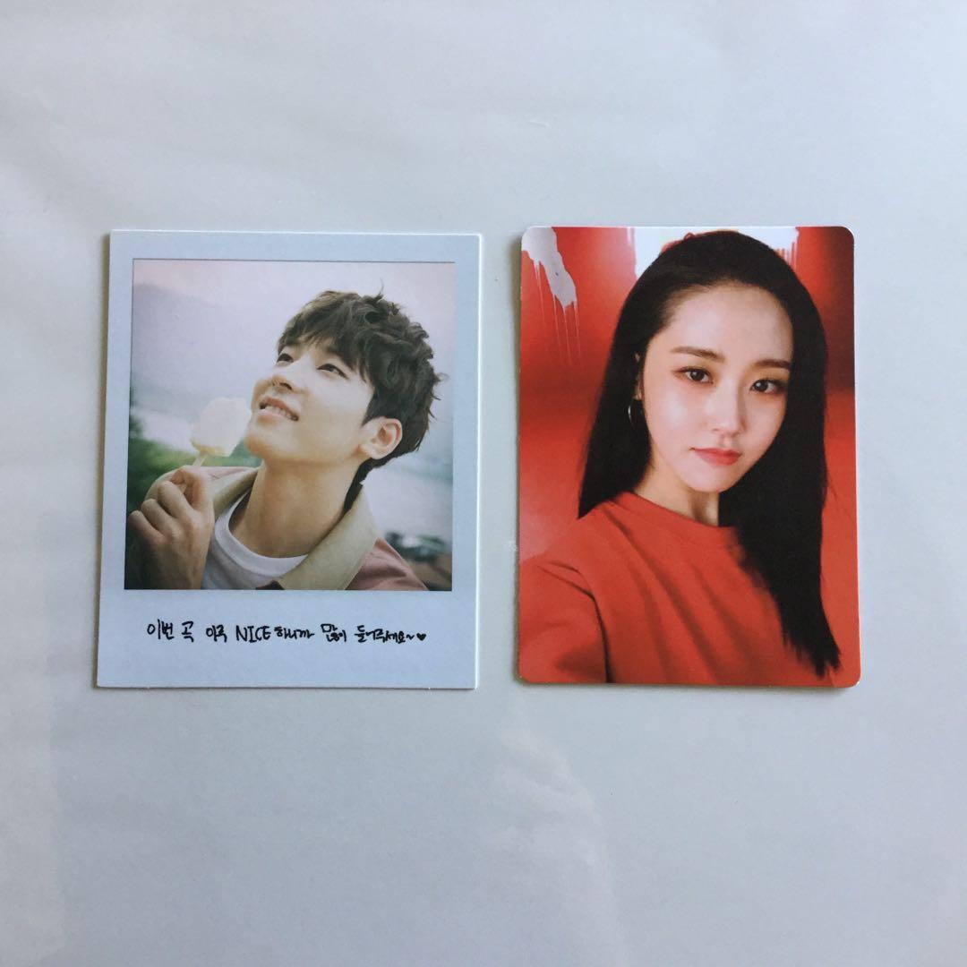 wts kpop photocards