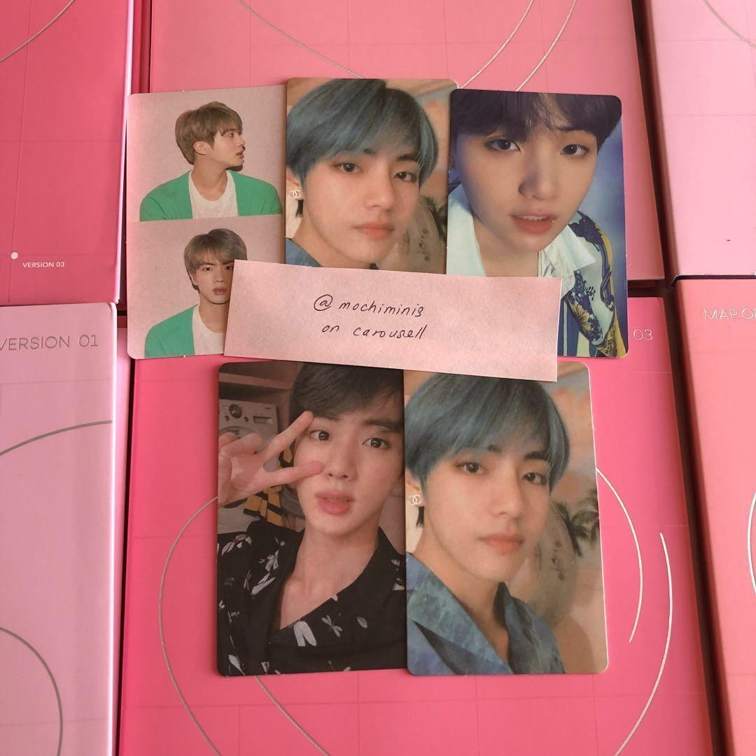 [WTT] BTS PERSONA MAP OF THE SOUL PHOTOCARD
