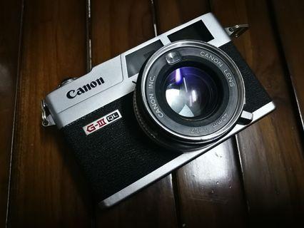 Rangefinder Canonet QL17 G-lll