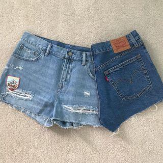 Shorts bundle Levi's & All Saints