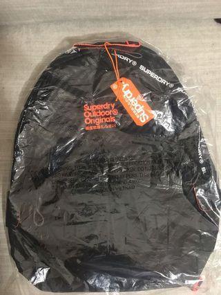 Superdry Backpack in black