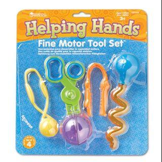 Brand New Learning Resources Helping Hands Fine Motor Tool Set