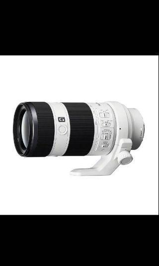 Sony FE 70 - 200mm F4 G OSS