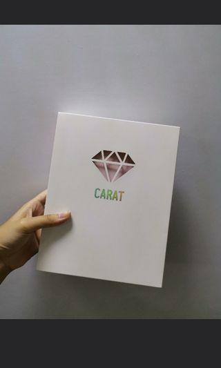 seventeen 3rd gen carat membership kit photocard binder