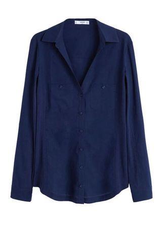 Shirt Cotton by Mango