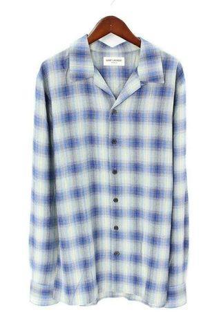 Authentic Saint Laurent Flannel Shirt #EndgameYourExcess